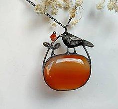Náhrdelníky - Cínový šperk  - V záhrade - 11332564_