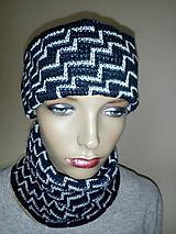 Čiapky - Pletené čiapky - 11333254_
