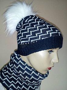 Čiapky - Pletené čiapky - 11333252_
