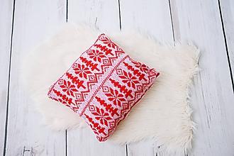 Úžitkový textil - pletené vankúše - 11333320_