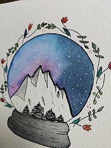 Obrazy - Vianočná guľa - 11331737_