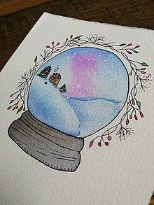Obrazy - Vianočná guľa - 11331813_