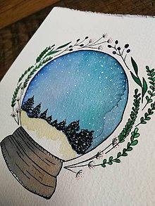 Obrazy - Vianočná guľa - 11331825_