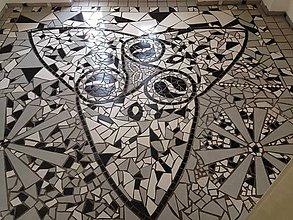 Dekorácie - Podlaha mozaika - 11330299_