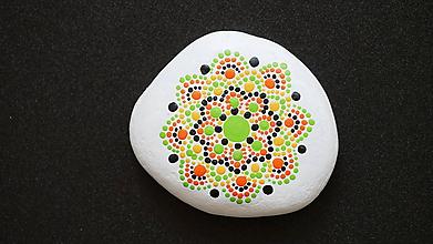 Dekorácie - Mandalový kamienok - čistota - 11332639_