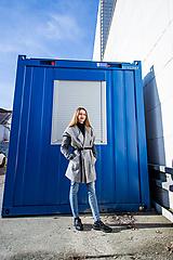 Iné oblečenie - Vesta gray - 11330607_