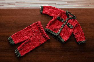 Detské súpravy - Detská súprava - svetrík a nohavice - 11334122_