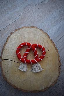 Dekorácie - Vianočný praclík - 11330699_