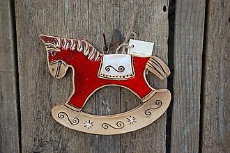 Dekorácie - Keramický koník - 11330154_