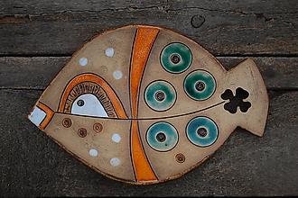 Nádoby - Keramická rybko-miska 3. - 11330350_