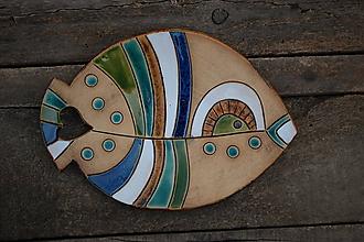 Nádoby - Keramická rybko-miska 5. - 11330418_