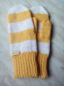 Rukavice - rukavice palčiaky - 11330282_