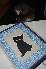 Úžitkový textil - mačka okaňa - 11331241_