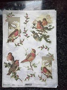 Papier - vtáčiky 2 - 11329493_