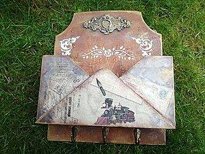 Krabičky - držiak na poštu - 11329500_
