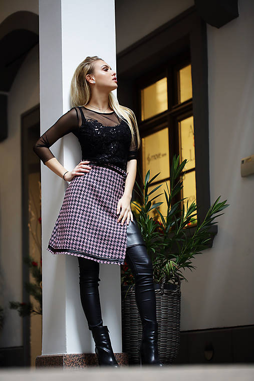 Zavinovacia sukňa Vea