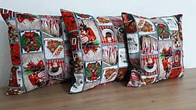 Úžitkový textil - Obliečka na vankūš  (Frosting) - 11334215_