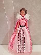 Hračky - Šaty s plášťom pre bábiku Barbie - 11334190_