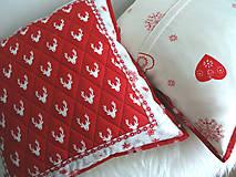 Úžitkový textil - Scandi Christmas... vankúš No.2 - 11335549_