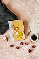 ART zápisník * diár A5 ,,Líška