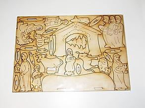 Polotovary - Betlehem z dreva - polotovar na vaše tvorenie - 11337986_