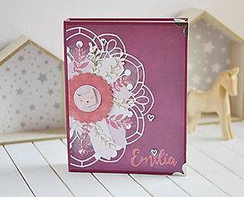 Papiernictvo - Karisblokový fotoalbum pre dievčatko - 11336611_