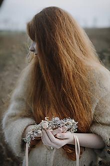 Ozdoby do vlasov - Venček pre dievčatko Ako vánok - 11334755_