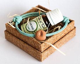 """Drobnosti - Darčekový balíček """"Voňavý náramok"""" s olejčekom (Ťuli a Ťuli) - 11335473_"""