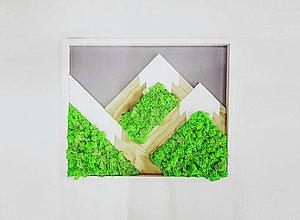 Obrazy - Machový obraz Bergen (Machový obraz Bergen Spring Green) - 11335216_