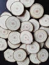 Polotovary - Plátky z vianočného stromčeka 4 (priemer 4,3 cm) - 11337882_