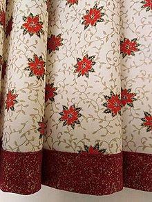 Úžitkový textil - Vianočný stredový obrus - 11334565_