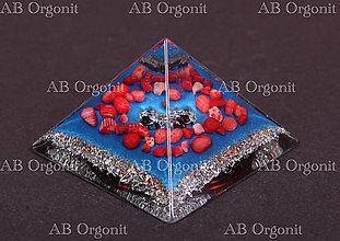 Dekorácie - Cheopsova pyramída - orgonit - 11337459_