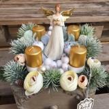 Dekorácie - ZĽAVA!!!!! advent v šuflíku - 11336282_