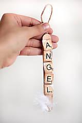 Dekorácie - Vianočná ozdoba-angel - 11336191_