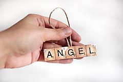 Dekorácie - Vianočná ozdoba-angel - 11336203_