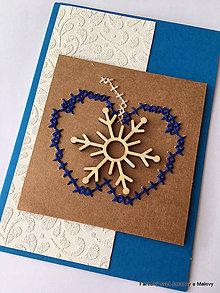 Papiernictvo - Vianočný pozdrav Jabĺčko 3 - 11336129_