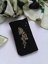 Ruža zlatá (púzdro na okuliare, mobil)