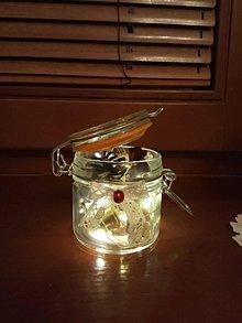 Dekorácie - Svietiaca dekorácia Vianoce - 11342717_