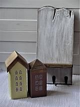 Nábytok - Vešiak s domčekami - 11340853_