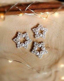 Dekorácie - Vianočné hviezdičky - 11341500_