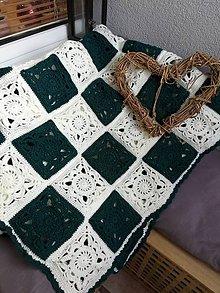 Úžitkový textil - Háčková deka KARLA - 11340746_