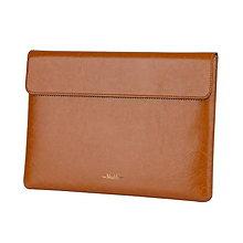 Na notebook - Kožený obal na macbook - tablet - notebook (Meď/Bronz) - 11341206_