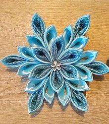 Dekorácie - Sada vianočných hviezd (Modrá) - 11339406_
