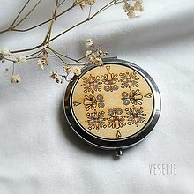 Zrkadielka - Zrkadielko folki - včela - 11341468_