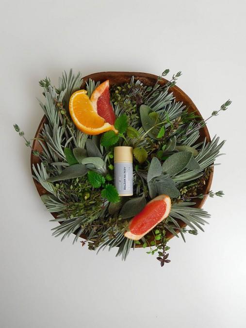 Balzam na pery - Grep & mandarínka
