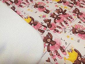 Textil - deka detská medvedi - 11340227_