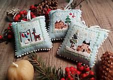 Dekorácie - Mini vankúšiky pre radosť - 11341828_