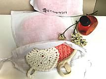 Úžitkový textil - Vrecko na pranie. - 11341235_