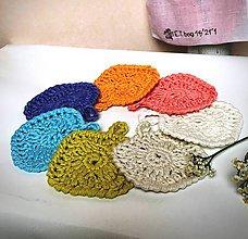 Úžitkový textil - Odličovacie tampóny z Organic baby bavlny. - 11341085_