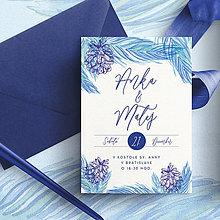 Papiernictvo - Svadobné oznámenie WINTER - 11340784_